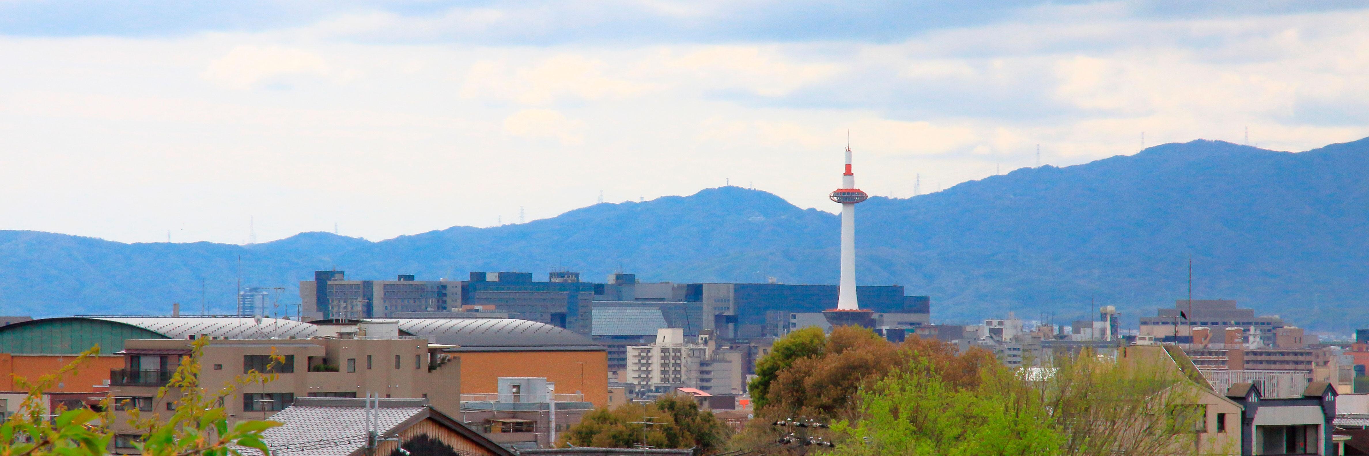 京都は世界一美しいまち京都かんきょうは力強く支えます。